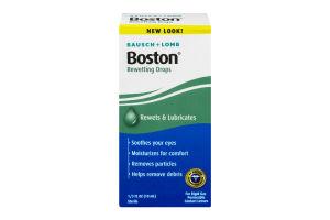 Bausch + Lomb Boston Rewetting Drops