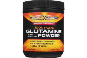 Body Fortress Rapid Recovery Series 100% Pure Glutamine Powder