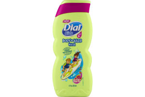 Dial Kids Ages 6+ Body + Hair Wash Watery Melon