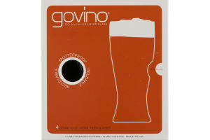 Govino Go Anywhere Shatterproof Beer Glass - 4 CT