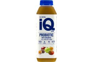 iQ All Natural Probiotic Juice Apple, Passion Fruit & Mango