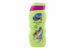 Dial Kids Body + Hair Wash Watery Melon