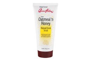 Queen Helene Facial Scrub Oatmeal 'n Honey