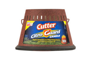 Cutter Citro Guard Candle 40 Hrs