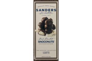 Sander's Fine Chocolates Dark Chocolate Snoconuts