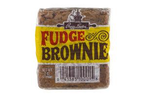 Peggy Lawton Fudge Brownie