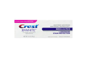 Crest 3D White + Advanced Stain Protection Toothpaste Brilliance