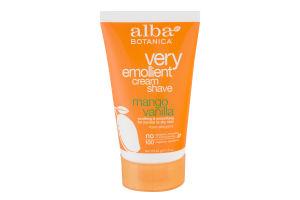 Alba Botanica Very Emollient Cream Shave Mango Vanilla