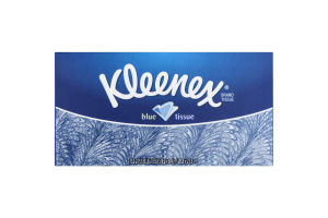 Kleenex Blue Tissue 2-Ply Tissues - 152 CT