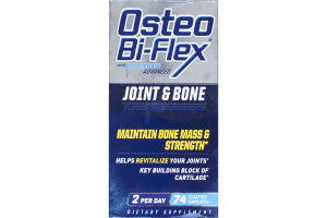 Osteo Bi-Flex With 5-Loxin Advanced Joint & Bone - 74 CT
