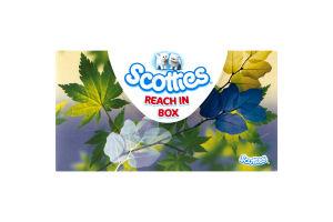Scotties Reach In Box Facial Tissues - 250 CT