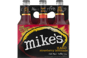 Mike's Hard Strawberry Lemonade - 6 PK