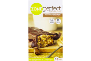 ZonePerfect Nutrition Bars Chocolate Peanut Butter - 12 CT