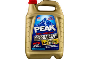 PEAK 50/50 Prediluted Antifreeze + Coolant
