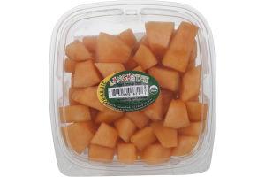 Lancaster Organic Cantaloupe Chunks