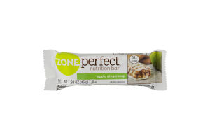ZonePerfect Nutrition Bar Apple Gingersnap