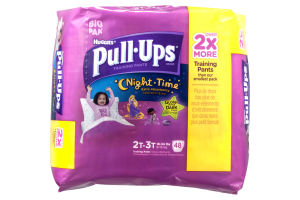 Huggies Pull-Ups Training Pants Night Time Disney Design 2T-3T - 48 CT