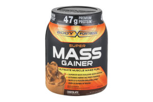 Body Fortress Super Mass Gainer Protein Powder Chocolate