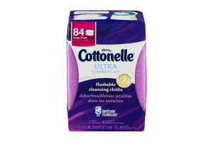 Kleenex Cottonelle Ultra Comfort Care Flushable Cleansing Cloths - 2 PK