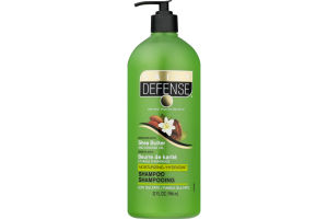 Daily Defense Moisturizing Shampoo with Shea Butter and Almond Oil