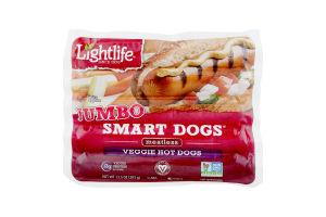 Lightlife Jumbo Smart Dogs Veggie Hot Dogs - 5 CT