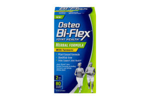 Osteo Bi-Flex Joint Health Herbal Formula with Turmeric Dietary Supplement