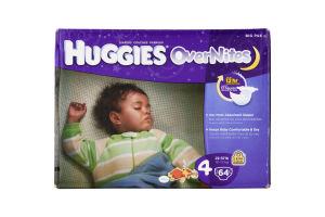 Huggies OverNites Diapers Disney 4 22-37 LB - 64 CT