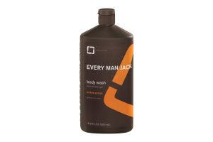 Every Man Jack Body Wash and Shower Gel Citrus Scrub