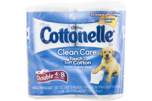 Kleenex Cottonelle Toliet Paper Clean Care - 4 CT