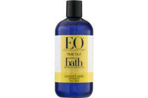 EO Time Out Bubble Bath Coconut & Vanilla with Tangerine