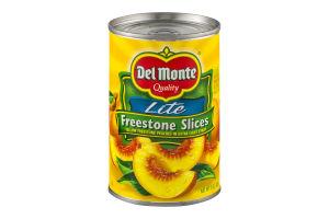 Del Monte Peaches Lite Freestone Slices In Extra Light Syrup