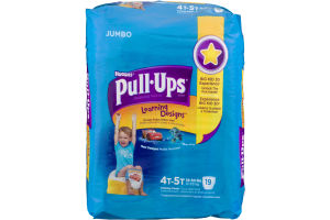 Huggies Pull-Ups Learning Designs Training Pants Size 4T-5T - 19 CT