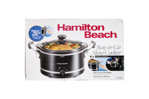 Hamilton Beach Stay Or Go 4 Quart Slow Cooker