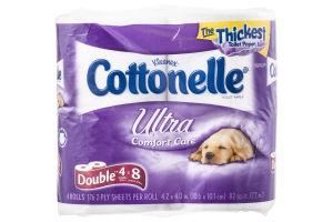 Kleenex Cottonelle Toliet Paper Ultra Comfort Care - 4 CT