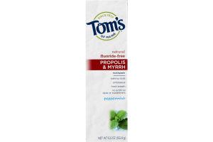 Tom's Of Maine Propolis & Myrrh Fluoride-Free Peppermint