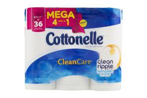Cottonelle CleanCare Toilet Paper Mega Rolls - 9 CT