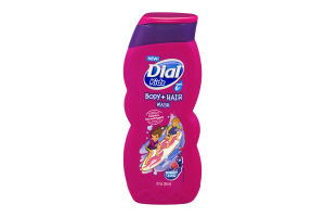 Dial Kids Ages 6+ Body + Hair Wash Berry Cool