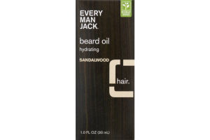 Every Man Jack Hydrating Beard Oil Sandalwood