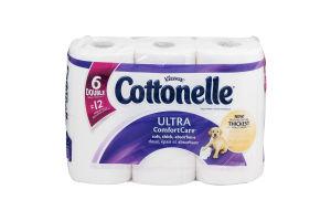 Kleenex Cottonelle Toilet Paper Ultra Comfort Care - 6 CT