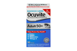 Bausch + Lomb Ocuvite Eye Vitamin & Mineral Supplement Adult 50+ Soft Gels - 90 CT
