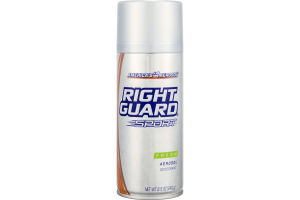 Right Guard Sport Aerosol Deodorant Fresh