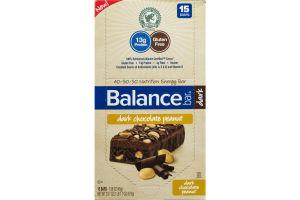 Balance Bar Dark Chocolate Peanut - 15 CT