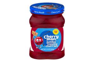 Cherry Man Jumbo Topping Cherries