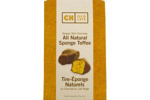 CH Ocolate Belgian Milk Chocolate All Natural Sponge Toffee