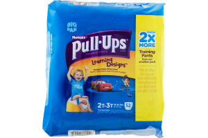 Huggies Pull-Ups Learning Designs Training Pants 2T-3T 18-34lbs - 52 CT