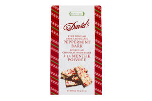 David's Fine Belgian Chocolate Peppermint Bark