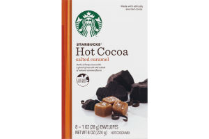 Starbucks Hot Cocoa Mix Salted Caramel - 8 CT