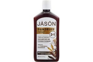 Jason Dandruff Relief 2 in 1 Shampoo + Conditioner Treatment