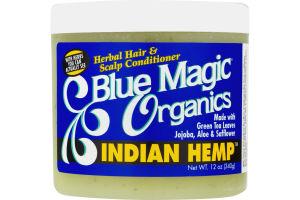 Blue Magic Organics Indian Hemp Hair & Scalp Conditioner