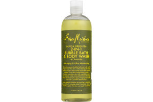 Shea Moisture Olive & Green Tea 2-IN-1 Bubble Bath & Body Wash